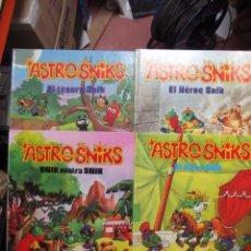 Fumetti: ASTROSNIKS EL TESORO SNIK , SNIK CONTRA SNIK , EL HEROE SNIK , EL CIRCO SNIK. Lote 293492068