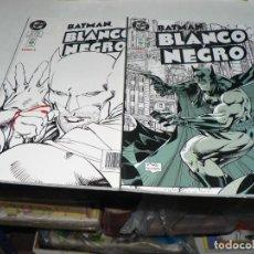 Cómics: BATMAN BLANCO Y NEGRO TO MO 1 Y 2. Lote 293571513