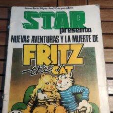 Cómics: FRITZ EL GATO, ESPECIAL STAR: NUEVAS AVENTURAS Y LA MUERTE DE FRITZ THE CAT NÚMERO ESPECIAL. Lote 293605738