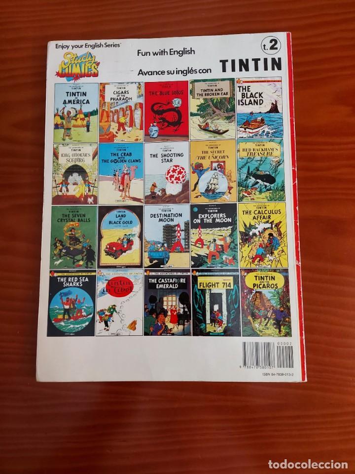 Cómics: COMIC DE LAS AVENTURAS DE TINTIN PRISONERS OF THE SUN EN INGLES Nº 2 AÑO 198? ED. DEL PRADO - Foto 2 - 293674803