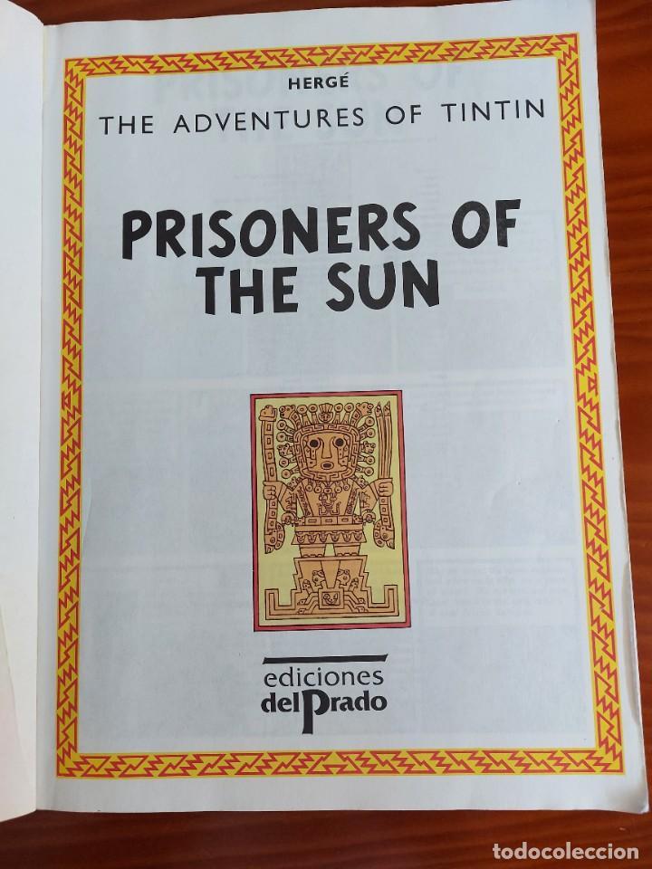 Cómics: COMIC DE LAS AVENTURAS DE TINTIN PRISONERS OF THE SUN EN INGLES Nº 2 AÑO 198? ED. DEL PRADO - Foto 3 - 293674803