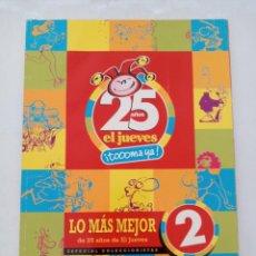 Cómics: EL JUEVES . ESPECIAL 25 AÑOS LO MÁS MEJOR 2. Lote 293811638