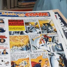 Cómics: CLASICOS DEL COMIC ( MANDRAKE , JORGE Y FERNANDO,ETC,) COMPLETA 13 NUMEROS EDITORIAL COMPLOT. Lote 266382703
