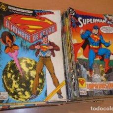 Cómics: SUPERMAN VOL. 2 COMPLETA 123 NUM. + 7 ESPECIALES (A FALTA DE LOS Nº 110-119-121-123) - ZINCO OCASION. Lote 293887893