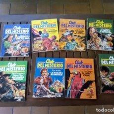 Cómics: LOTE DE 9 COMICS CLUB DEL MISTERIO , BUEN ESTADO. Lote 294037693