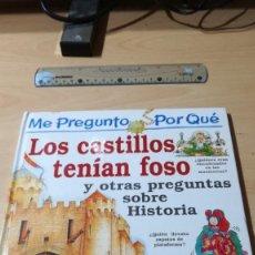 Cómics: LOS CASTILLOS TENIAN FOSO / ME PREGUNTO POR QUE… Y OTRAS PREGUNTAS / CIRCULO LECTORES / ALL59. Lote 294081288
