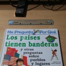 Cómics: LOS PAISES TIENEN BANDERAS / ME PREGUNTO POR QUE… Y OTRAS PREGUNTAS / CIRCULO LECTORES / ALL59. Lote 294088608