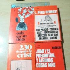 Cómics: EL MOSCARDON, HUMOR, 4 LIBROS / OSKI, CRIST, BROCCOLI, VVAA / PLANETA / ALL78. Lote 294090158