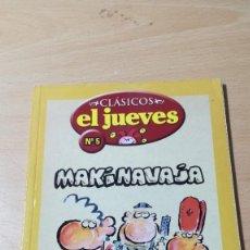 Cómics: MAKINAVAJA / CLASICOS EL JUEVES 5 / IVA / ALL82. Lote 294090588