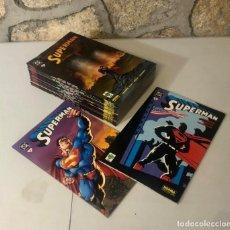 Cómics: SUPERMAN, 20 EJEMPLARES COMPLETA, AÑO 2001/2002, (NORMA EDITORIAL/VID).. Lote 294112163