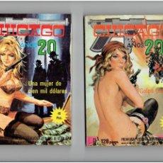 Cómics: * CHICAGO AÑOS 20 * Nº 1, 2, 3 * EDICIONES EL VIBERIA 1977 *. Lote 294112538