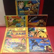Fumetti: AVENTURAS SUPER-X, COMPLETA, 7 TEBEOS, EL NÚMERO 5 DOBLE, MUY BUEN ESTADO. Lote 294447063