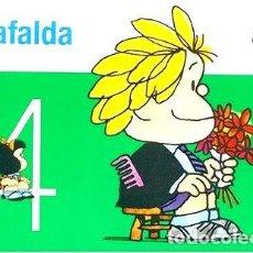 Cómics: MAFALDA N 4 QUINO DE LA FLOR ED. 2020 - QUINO. Lote 294475303