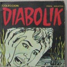 Fumetti: COLECCION DIABOLIK - Nº 11 - EL MONSTRUO DEL LAGO - COMIC. Lote 294566758