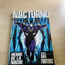 Cómics: NOCTURNO - HÉROE DE LA NOCHE. Lote 294824933