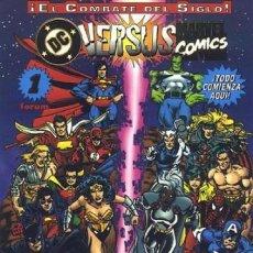 Comics: DC VERSUS MARVEL COMICS Nº 1. Lote 295284298