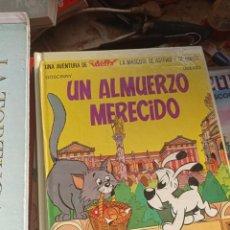 Fumetti: UN ALMUERZO MERECIDO. UNA AVENTURA DE IDEFIX, LA MASCOTA DE ASTERIX. Lote 295399828
