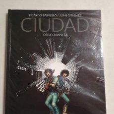 Cómics: DE KIOSKO CIUDAD OBRA COMPLETA RICARDO BARRERO / JUAN GIMENEZ MAS ARTICULOS. Lote 295412698