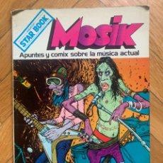 Cómics: MOSIK - APUNTES Y COMIX SOBRE LA MUSICA ACTUAL - ESPECIAL STAR BOOK - NEAL ADAMS D1. Lote 295419763