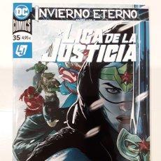 Cómics: LIGA DE LA JUSTICIA 113 / 35 (GRAPA) - LANNING, MARZ, PORTER, SANTUCCI, HENRY, HESTER - ECC CÓMICS. Lote 295420653