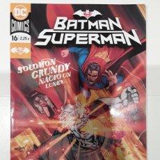 Cómics: BATMAN / SUPERMAN 16 (GRAPA) - WILLIAMSON, BRESSAN - ECC CÓMICS. Lote 295421088