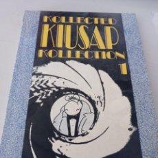 Cómics: KOLLECTED KIUSAP KOLLECTION 1 NUMERADO 104 /999 - COMIC CELS PIÑOL AÑO 1991 - MUY DIFICIL REF. UR. Lote 295481883