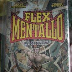 Cómics: ¡FLEX MENTALLO DE GRANT MORRISON Y FRANK QUITELY TOMO ECC DESCATALOGADO!. Lote 295500518