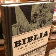 Cómics: LA BIBLIA DE WOLVERTON. EL ANTIGUO TESTAMENTO Y EL LIBRO DEL APOCALIPSIS SEGUN BASIL WOLVERTON. Lote 295506863