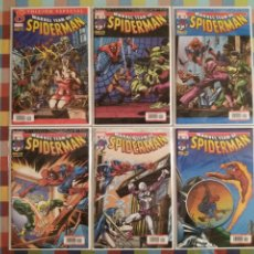 Cómics: MARVEL TEAM-UP SPIDERMAN (BIBLIOTECA MARVEL): N°8, 9, 10, 11, 12, 13 -PANINI-. Lote 295521498