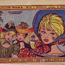 Cómics: COLECCION ROSA Nº 1 AÑO 1959. Lote 295690348