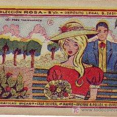 Cómics: COLECCION ROSA Nº 47 AÑO 1959. COLECCIONISMO EN GENERAL-VEA RASTRILLOPORTOBELLO. Lote 295690378