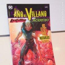 Fumetti: EL AÑO DEL VILLANO Nº 2 LEX LUTHOR Y EL ACERTIJO DC - ECC OFERTA. Lote 295725238