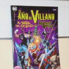 Fumetti: EL AÑO DEL VILLANO Nº 4 EL SEÑOR DEL OCEANO Y HARLEY QUINN DC - ECC OFERTA. Lote 295725598