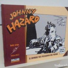 Cómics: JOHNNY HAZARD 1956-1957 DAILY STRIPS - DOLMEN OFERTA (ANTES 29,90 €). Lote 295777428
