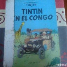 Cómics: TINTIN EN EL CONGO. Lote 295840418