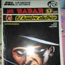 Cómics: CLUB AMIGOS DE LA HISTORIETA MR. RADAR EL HOMBRE ELÉCTRICO CJ49. Lote 295843453