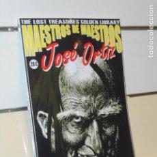 Cómics: MAESTROS DE MAESTROS JOSE ORTIZ THE LOST TREASURES' GOLDEN LIBRARY - EDICION LIMITADA 150 EJEMPLARES. Lote 295843473