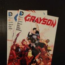 Cómics: GRAYSON 1 Y 2. Lote 295853583