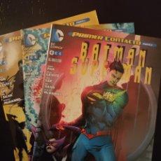 Cómics: BATMAN SUPERMAN 10, 11 Y 12. GRAPA. Lote 295853958