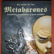 Cómics: LA CASTA DE LOS METABARONES. INTEGRAL. ALEJANDRO JODOROWSKY & JUAN GIMENEZ. IMPECABLE. Lote 295861553