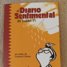 Cómics: EL DIARIO SENTIMENTAL DE JULIÁN PI. ASTIBERRI. IMPECABLE. Lote 295861768