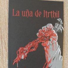 Cómics: LA UÑA DE ITRTHIL - CUERVO, SANGRE Y NIEVE. DOLMEN. IMPECABLE. Lote 295862653