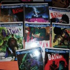 Cómics: BATMAN ALL STAR RENACIMIENTO COMPLETA (15 NÚMEROS) ECC NUEVOS. Lote 295863158