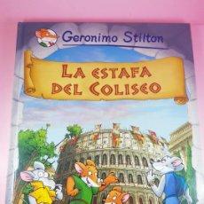 Cómics: COMIC-GERÓNIMO STILTON-LA ESTAFA DEL COLISEO-COLECCIONISTAS-VER FOTOGRAFÍAS.. Lote 295867323