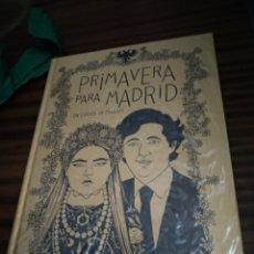 Cómics: PRIMAVERA PARA MADRID. Lote 295878148