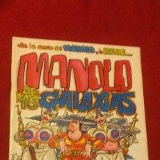 Cómics: MANOLO DE LAS GALAXIAS - MANEL - ED- MANUEL FERRER - REVISTA. Lote 296768833