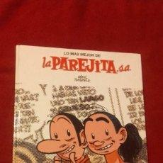 Cómics: LA PAREJITA S.A. - COL. LO MAS MEJOR Nº 1 - M. FONTDEVILA - ED. EL JUEVES - CARTONE. Lote 296769198