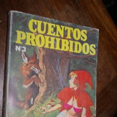 Cómics: CAPERUCITA ROJA CUENTOS PROHIBIDOS Nº 3 EDICIONES ACTUALES 1977. Lote 296775128