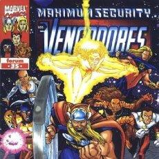 Cómics: LOS VENGADORES VOL. 3 - Nº 35. Lote 297023713