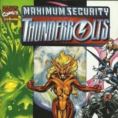 Cómics: THUNDERBOLTS. MAXIMUM SEGURITY. Lote 297024478